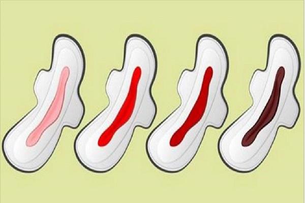 il colore delle mestruazioni sintomi