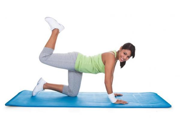 buttocks exercise